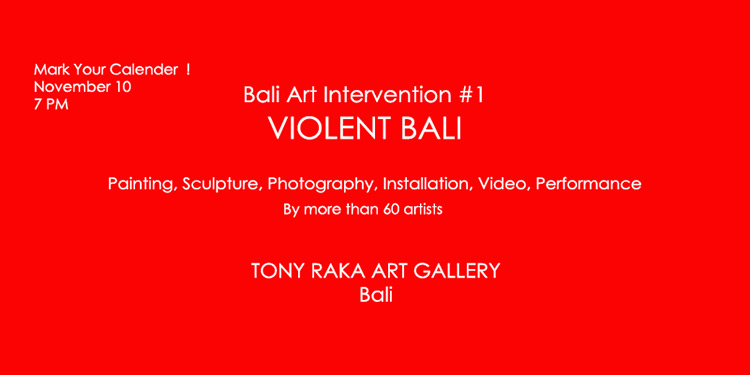 group exhibition violent bali